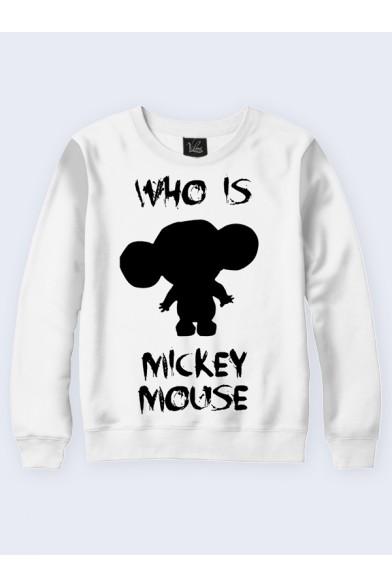 Свитшот Who is Mikkey Vilno 9466