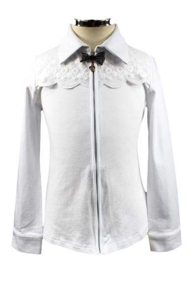 Трикотажная блузка на молнии Colabear 682696