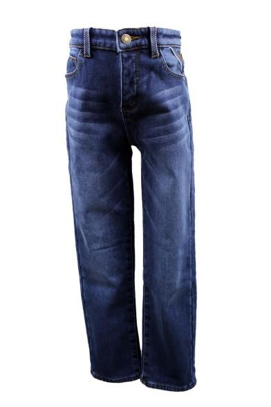 Утепленные потертые джинсы Vitacci