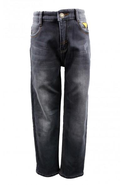 Утепленные серые джинсы Vitacci 1161084-03