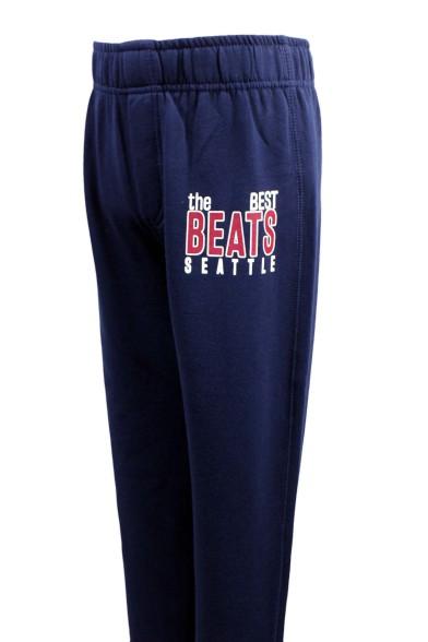 Утеплённые трикотажные штаны Kodeks