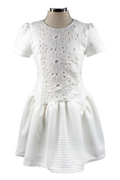Платье с заниженной линией талии Deloras 17406J