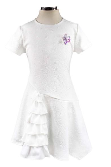 Платье с жаккардовым рисунком Deloras 29235