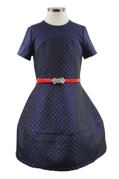 Платье с оригинальной юбкой Deloras 29203