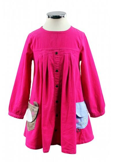 Платье из микровельвета NCXT 6688