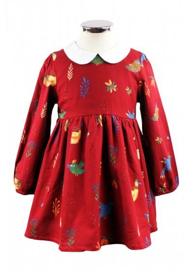 Платье с отложным воротником NCXT 3-082