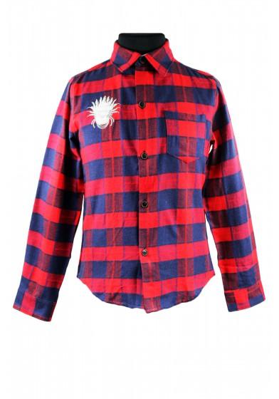 Яркая клетчатая рубашка Colabear 110486