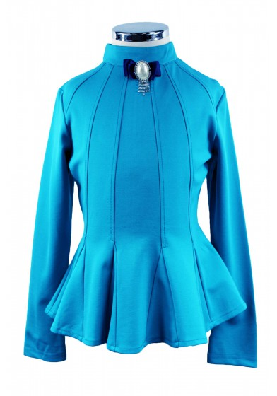 Элегантная блузка с баской - 4 Deloras 29194